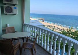 Семидворье отдых в Крыму вид на море