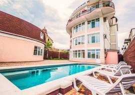 Отель Парус  - Крым Отель с бассейном   золотой пляж Феодосия